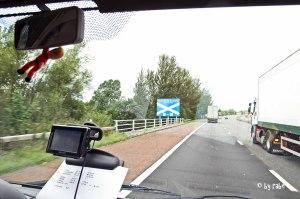 Grenzübertritt England / Schottland