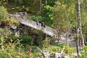 Schlucht von Corrieshalloch, Falls of Measach