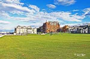 der St. Andrews Royal and Ancient Golf Club und das Museum