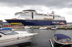 Color Fantasy im Hafen von Oslo