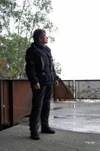 skeptischer Blick bei längerer  Regenpause