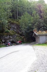 Parken und Ausgangspunkt der Wanderung zum Vørungsfossen