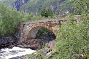 alte Brücke im Nationalpark Hardangervidda 2