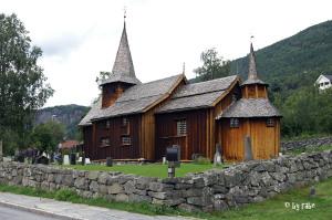 Stabkirche in Hol