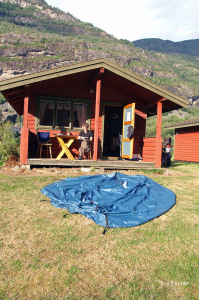 Camingplatz in Aurland