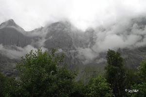 Abfahrt vom Trollstigen
