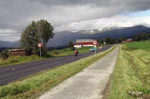 auf dem Weg zum Dovrefjell Nationalpark