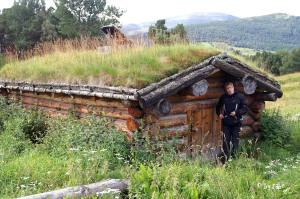 altes Dorf auf dem Weg zum Dovrefjell Nationalpark