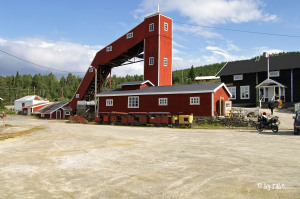 altes Bergwerk in Vosdal