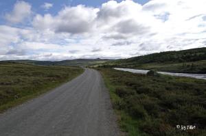 Straße, ohne Asphalt