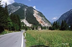 Bergwelt in Slowenien