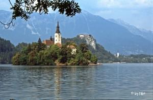 Marienkirche im Bleder See