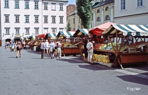 Markt in Ljubljana