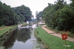 Rollberg am Elblag-Kanal