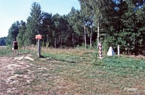 Grenzstreifen Polen Russland
