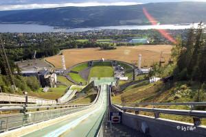 Skisprunganlage in  Lillehammer 2