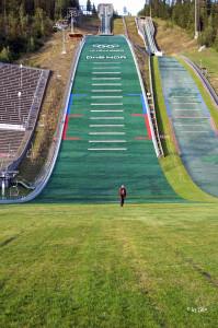 Skisprunganlage in  Lillehammer