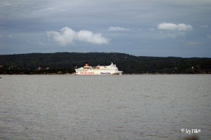 Fähre im Oslofjord