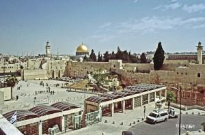 Israel Jerusalem mit Klagemauer