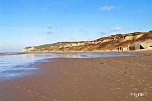 Strand in Wissant mit Blick Richtung Cap Griz Nez 2