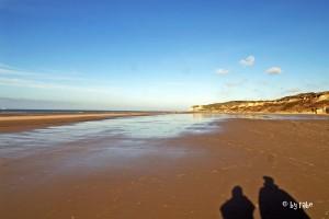 Strand in Wissant mit Blick Richtung Cap Griz Nez 1