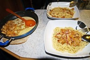 Spaghetti mit wilden Pfifferlingen