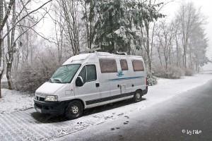 Schnee an der Wildenburg 2