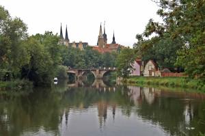 Saale, Merseburger Dom, Merseburger Schloss