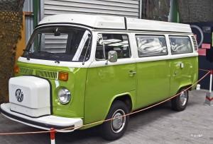 brasilianischer VW-Bully im Luftfahrt und Technik Museum in Merseburg