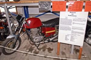 Motorrad mit Trabant Motor